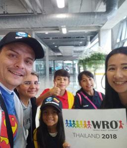Participación WRO Thailandia 2018
